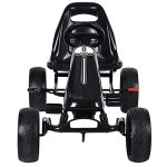 Costzon-Go-Kart-4-Wheel-Powered-Racer-Outdoor-Toy-Kids-Ride-On-Pedal-CarBlack-0-0