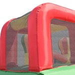 Costzon-Inflatable-Bounce-House-Mighty-Balloon-Slide-Bouncer-Kids-Jump-w-Basketball-50-PCS-Balls-Without-Blower-0-1