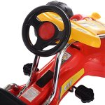 Costzon-Red-Black-Products-Go-Kart-4-Wheel-Kids-Ride-on-Car-Stealth-Pedal-Powered-Outdoor-Racer-0-2