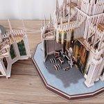 CubicFun-MC210h-Italy-Duomo-di-Milano-Worlds-Great-Architectures-3d-Puzzle-251-Pieces-0-2
