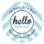 Custom-Hello-Little-One-Blue-and-Silver-Personalized-Candle-Tin-Boy-Baby-Shower-Favors-Set-of-12-0-0