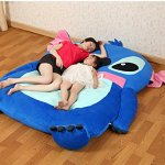Cute-Cartoon-LiloStitch-Image-Sleeping-Bag-Sofa-Bed-Twin-Bed-Double-Bed-Mattress-for-Kids-0-2
