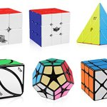 D-FantiX-Speed-Cube-Set-Cyclone-Boys-2×2-3×3-Speed-Cube-Stickerless-Pyramid-Cube-Qiyi-Ivy-Cube-Shengshou-2×2-Megaminx-Fisher-Cube-Magic-Cube-Puzzles-Toys-Christmas-Gift-Set-for-Kids-0-1