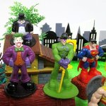 DC-Comic-Super-Friends-Birthday-Cake-Topper-Set-Featuring-Super-Hero-Crime-Fighters-and-Villains-with-Decorative-Accessories-0-0