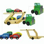 Daluo-Childrens-Wooden-Toy-Car-Can-Be-Assembled-Car-Wooden-Bunk-Transporter-0-2