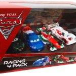 Disney-Pixar-CARS-2-Movie-Exclusive-Die-Cast-Car-Racing-4Pack-Francesco-Bernoulli-Shu-Todoroki-Nigel-Gearsley-Raoul-Caroule-0