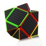 Dreampark-Speed-Cube-Bundle-5-Pack-2×2-3×3-Megaminx-Skewb-Pyramid-Carbon-Fiber-Sticker-Magic-Cube-Puzzle-Toy-Set-of-5-0-2