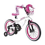 Dynacraft-Hello-Kitty-Girls-BMX-Street-Bike-18-WhiteBlackPink-0