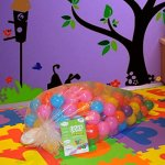 EnviUs-Cushy-Pit-Balls-Royals-65-CM-Phthalates-Free-and-Crush-Proof-7-Colors-Red-Orange-Yellow-Green-Purple-Blue-Pink-0