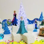 FROZEN-35-Piece-Frozen-Cake-Topper-Set-Featuring-2-Winter-Wonderland-Figures-of-Elsa-Anna-Sven-Hans-Kristoff-Olaf-Marshmallow-Snow-Monster-Bulda-Troll-King-Troll-and-Other-Winter-Themed-Accessories-Ca-0-0