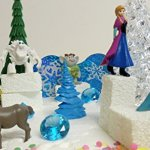 FROZEN-35-Piece-Frozen-Cake-Topper-Set-Featuring-2-Winter-Wonderland-Figures-of-Elsa-Anna-Sven-Hans-Kristoff-Olaf-Marshmallow-Snow-Monster-Bulda-Troll-King-Troll-and-Other-Winter-Themed-Accessories-Ca-0-1