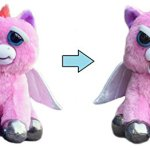 Feisty-Pets-Sparkles-Rainbowbarf-the-Pegasus-Goes-from-Aww-to-Ahh-with-a-Squeeze-0