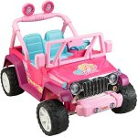 Fisher-Price-Power-Wheels-Barbie-Jammin-Jeep-Wrangler-0-0