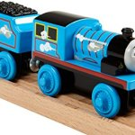 Fisher-Price-Thomas-Friends-Wooden-Railway-Roll-Whistle-Edward-Battery-Operated-0-1