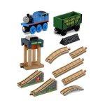 Fisher-Price-Thomas-the-Train-Wooden-Railway-Coal-Hopper-Figure-8-Set-0-0
