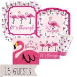 Flamingo-Party-Like-a-Pineapple-Baby-Shower-or-Birthday-Party-Tableware-Plates-Cups-Napkins-Bundle-for-16-0