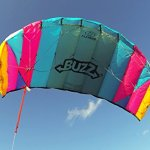 Flexifoil-145m-2-Line-Buzz-Power-Kite-with-90-Day-By-World-Record-Winning-Designer-of-2-line-and-4-line-Power-Kites-Safe-Strong-Reliable-and-Durable-Family-Outdoor-Activity-0-0