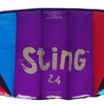 Flexifoil-24m226m-Wide-Sting-4-line-Power-Kite-with-90-Day-By-World-Record-Power-Kite-Designer-Safe-Reliable-and-Durable-Power-Kiting-Kite-Training-and-Traction-Kiting-0