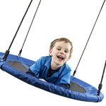 Flying-Squirrel-Giant-Rope-Swing-40-Saucer-Tree-Swing-Blue-0-1