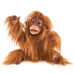 Folkmanis-Baby-Orangutan-Hand-Puppet-0