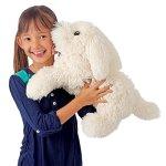 Folkmanis-Panting-Dog-Hand-Puppet-Plush-0-2
