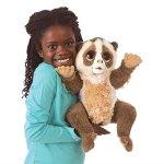 Folkmanis-Slow-Loris-Hand-Puppet-Plush-0-1