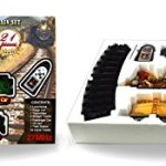 Ginzick-Rc-Remote-Control-Super-Fun-Classic-Electric-Train-Set-with-Lights-Sounds-and-Real-Smoke-Perfect-Gift-and-Special-for-Holiday-0-2
