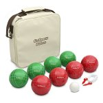 GoSports-100mm-Regulation-Bocce-Set-with-8-Balls-Pallino-Case-and-Measuring-Rope-Premium-Official-Size-Set-0