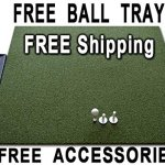 Golf-Mat-4-x-5-Dura-Pro-Plus-Residential-Golf-Hitting-Mat-FREE-Golf-Ball-Tray-FREE-Balls-FREE-Tees-FREE-SHIPPING-8-Year-UV-Warranty-Dura-Pro-Golf-Mats-Make-All-Other-Golf-Mats-Obsolete-Family-Owned-An-0