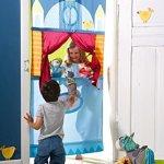 HABA-Doorway-Puppet-Theater-Adjustable-Rod-fits-in-Most-Doorways-0-0
