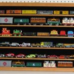 HO-N-Scale-Trains-Hot-Wheels-Lego-Minifigures-Display-Case-Hot-Wheels-Wall-Cabinet-HW05B-OA-0-0