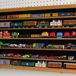 HO-N-Scale-Trains-Hot-Wheels-Lego-Minifigures-Display-Case-Hot-Wheels-Wall-Cabinet-HW05B-OA-0