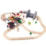 Hape-Kids-Wooden-Railway-Working-on-the-Railroad-Set-0