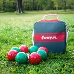 Harvil-100mm-Bocce-Ball-Set-Includes-8-Poly-Resin-Balls-1-Pallino-1-Nylon-Zip-Up-Carrying-Case-and-Measuring-Rope-0-2