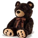 Huge-Teddy-Bear-Dark-Brown-0-0