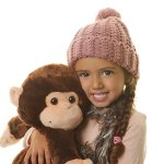 Hugo-Warmkins-Original-18-Weighted-Sensory-Plush-Monkey-Feels-Like-a-Warm-HugTherapeuticCalmingComfortingHotColdMicrowavableDoubles-as-Backpack-and-StorageRemovable-StrapsReversible-Paws-0-2