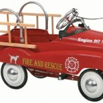 InStep-Fire-Truck-Pedal-Car-0-0