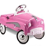 InStep-Pink-Lady-Pedal-Car-0