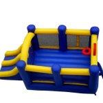 Island-Hopper-Racing-Slide-and-Slam-Recreational-Bounce-House-0-0