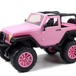 Jada-Toys-GIRLMAZING-Big-Foot-Jeep-RC-Vehicle-116-Scale-Pink-0-1