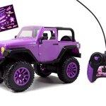 Jada-Toys-GIRLMAZING-Big-Foot-Jeep-RC-Vehicle-116-Scale-Purple-0-0