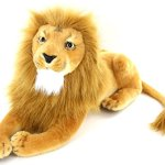 Jesonn-Realistic-Giant-Stuffed-Animals-Plush-Toy-Lion-Beige-for-Kids-Gifts225-or-57CM1PC-0-0