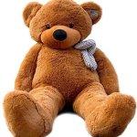 Joyfay-78-Giant-Teddy-Bear-Dark-Brown-Valentines-Gift-0