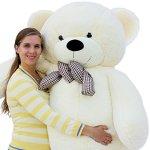 Joyfay-Giant-Teddy-Bear-7865-Feet-White-0