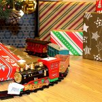 Joyin-Express-Christmas-Train-Set-with-Remote-Control-Lights-and-Sounds-12-Tracks-4-Train-Cars-and-Railway-Toy-Train-for-Christmas-Toy-Christmas-Gift-and-Christmas-Tree-Decoration-by-Joyin-Toy-0-1