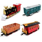 Joyin-Express-Christmas-Train-Set-with-Remote-Control-Lights-and-Sounds-12-Tracks-4-Train-Cars-and-Railway-Toy-Train-for-Christmas-Toy-Christmas-Gift-and-Christmas-Tree-Decoration-by-Joyin-Toy-0-2