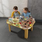 KIDKRAFT-Disney-Pixar-Cars-3-Thomasville-70-Piece-Wooden-Track-Set-with-Accessories-and-Table-0-0