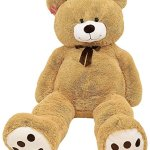 Kangaroos-Jumbo-5-Foot-Stuffed-Teddy-Bear-Plush-Toy-0-1