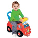 Kiddieland-Light-n-Sound-Mickey-Activity-Fire-Engine-Kid-Toy-Car-Red-050815-0-0