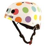 Kiddimoto-Kids-Pastel-Dotty-Helmet-Multicoloured-48-52cm-0